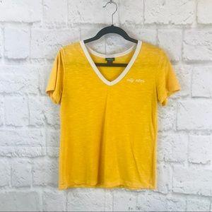 Rue 21 Yellow Tee